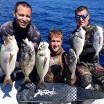 tečaj podvodnega ribolova teorija