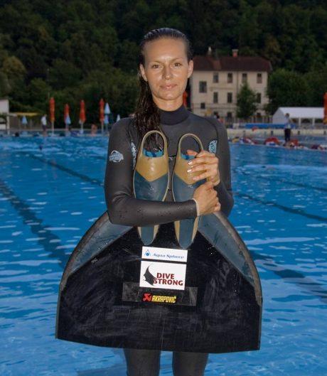 Alenka Artnik apnea H2O team