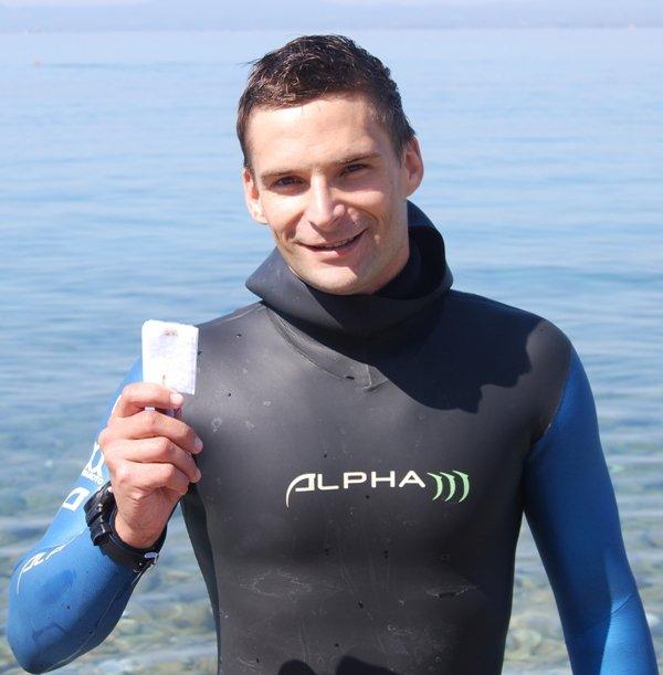 Andrej Ropret apnea H2O team