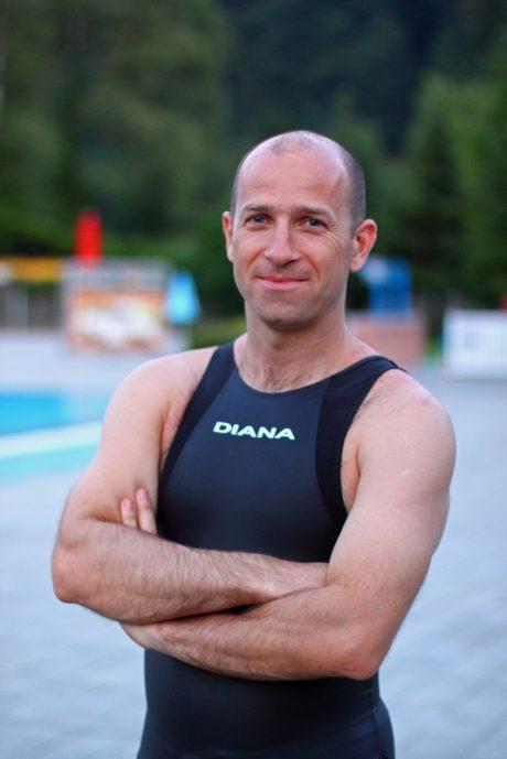 Robert Tašič apnea H2O team